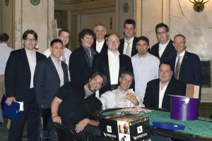 2009 SmartBet Winner with the organizers